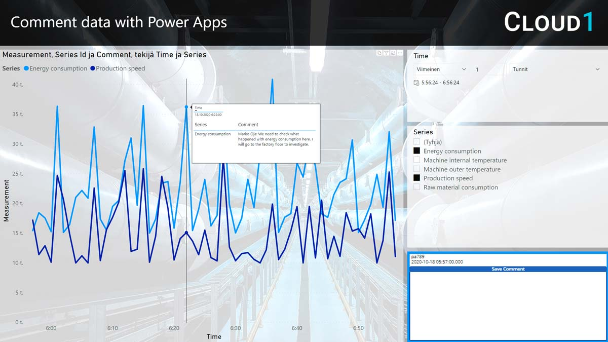 Comment data with Power Apps | Cloud1