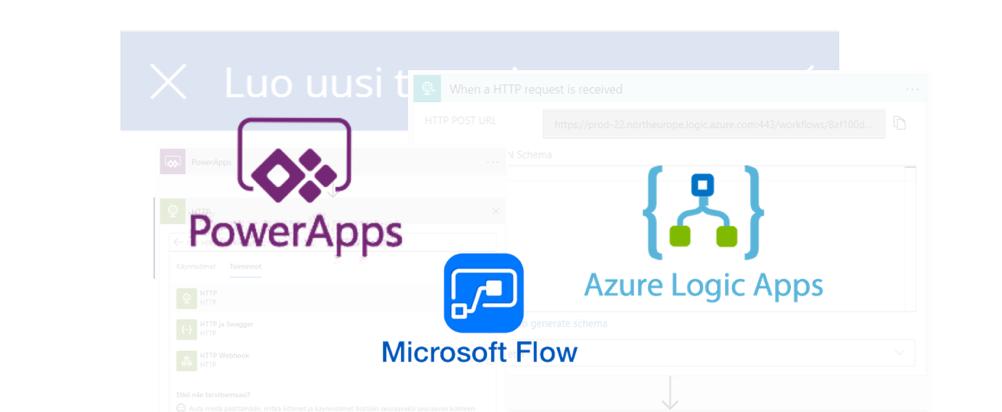 PowerApps-jatkot: Käyttöliittymän yhdistäminen Azuren datapalveluihin