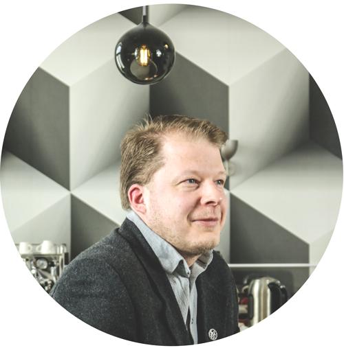 Markus Laurén, Data Engineer